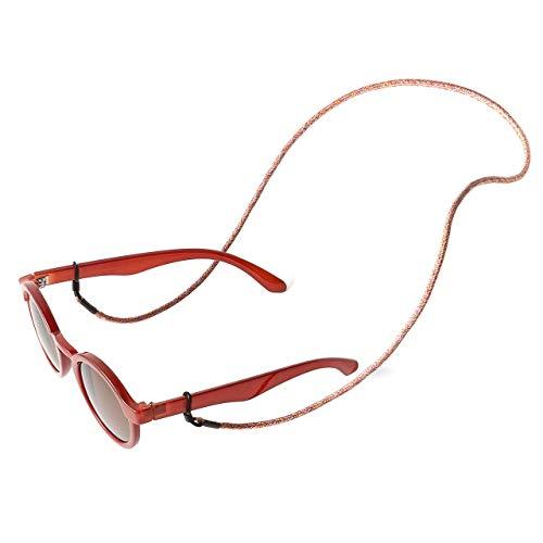 KNOK Brillenband Sunglass Strap - Brillenbänder Brillenkette Universal Accessoire für Sonnenbrillen und Lesebrillen - Brillenhalter Brillenschnur (Unicorn)