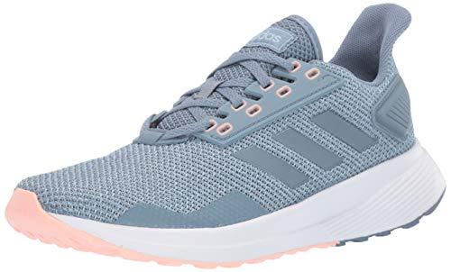 adidas Women's Duramo 9 Running Shoe, raw Grey/raw Grey/ash Grey, 8.5 M US