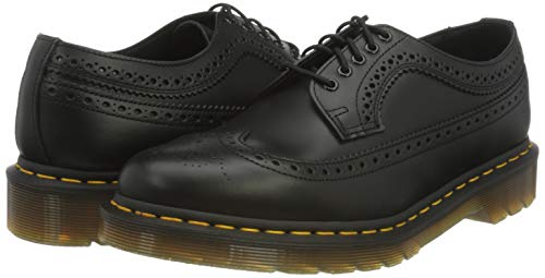 Dr. Martens, 3989 Brogue BEX 3-Eye Leather Wingtip Shoe for Men and Women