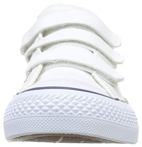 Victoria Tribu Velcros Lona, Zapatillas Unisex Adulto, Blanco (Blanco 20), 42 EU