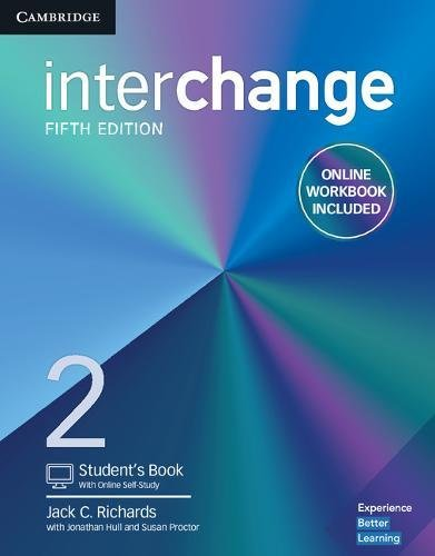 INTERCHANGE 2 SB WITH ONLINE SELF-STUDY AND ONLINE WB - 5TH ED