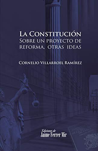 La Constitución: Sobre un proyecto de reforma y otras ideas