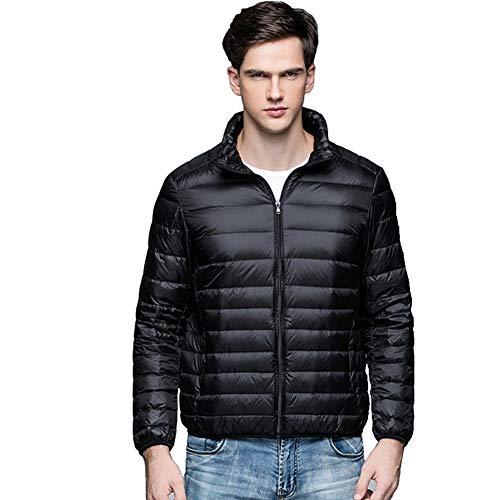 Gaozh Chaqueta Plumas Hombre Abajo Jacket Plumón De Pluma Invierno Ligero Abrigo