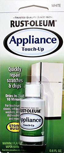 Rust-Oleum 203000 6 Pack .6-Ounce Specialty Brush Bottle Appliance Touch Up, White