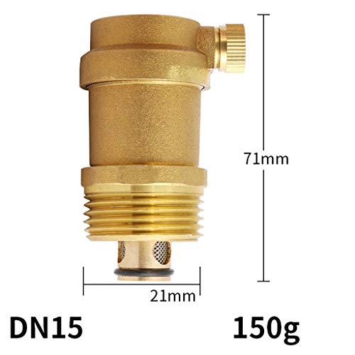 ZTFM DN15 DN20DN25  messing uitlaatventiel draaduitgang automatische uitlaatventiel messing automatische schroefdraad uitlaatklep