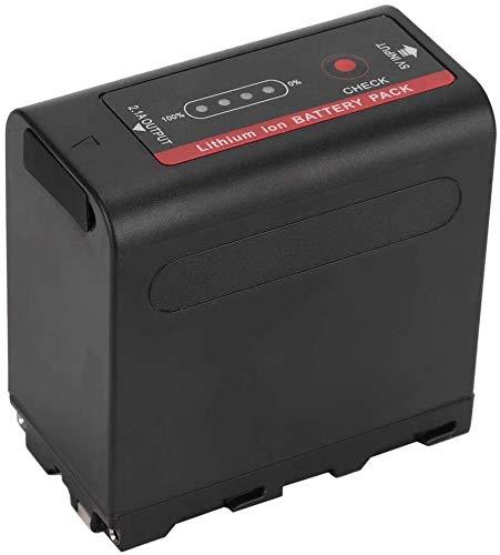 Powerextra - Batería de ion de litio para Sony NP-F980 (7800mAh, 2 unidades)