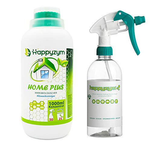 Happyzym Home Plus Biologischer Enzymreiniger Bio-Allzweckreiniger 1 Liter Konzentrat |...
