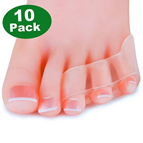 Sumifun [10x] Separadores dedos pequeños alisadores
