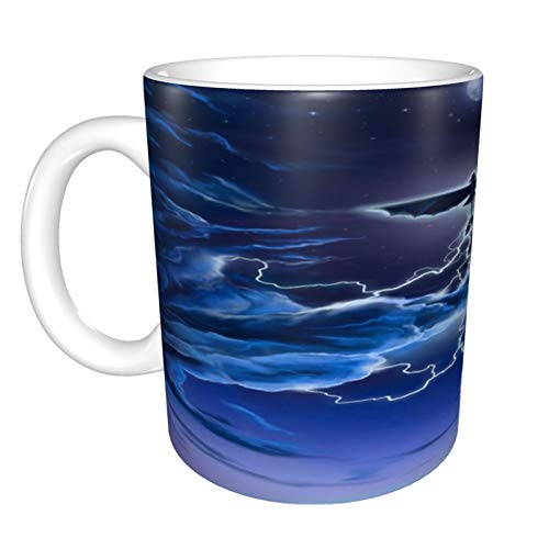 Taza de café con asas grandes para el hogar y la oficina, regalo divertido para mujeres/hombres/niños