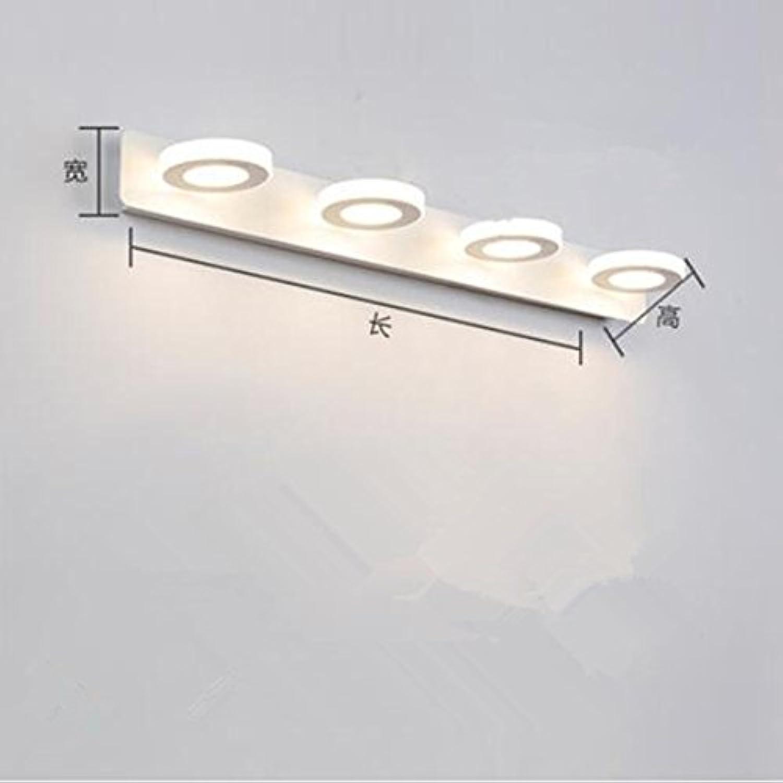Spiegel Scheinwerfer Badezimmer Licht Einfache Badezimmer Licht Auge Make-Up Licht Wasserdicht Anti-Fog WC-Licht