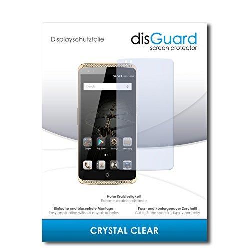 disGuard 4 x Bildschirmschutzfolie ZTE Axon Elite Schutzfolie Folie CrystalClear unsichtbar