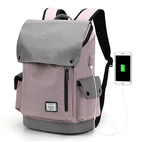 WindTook Mochila Portatil para Mujer y Hombre Mochila Ordenador Portatil 15.6 Pulgadas Mochila Escolar Multiusos Impermeable para Viajes/Negocios/Universidad/Trabajo Púrpura