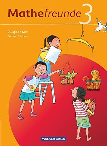 Mathefreunde - Ausgabe Süd 2010 (Sachsen, Thüringen) - 3. Schuljahr: Schülerbuch mit Kartonbeilagen