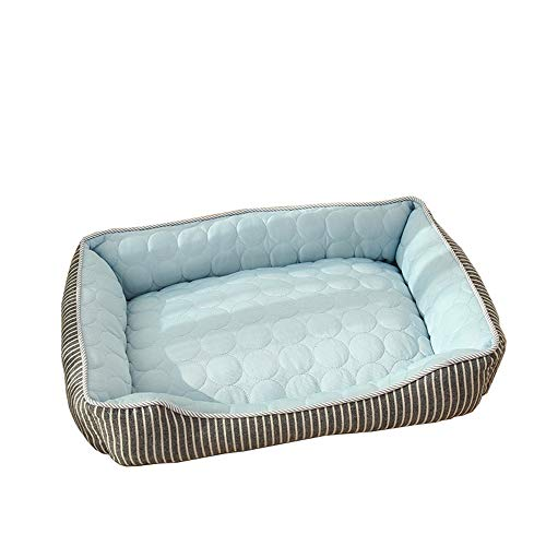 J Large dog bed with heat dissipation function, L (72x54x18cm), comfort dog bed