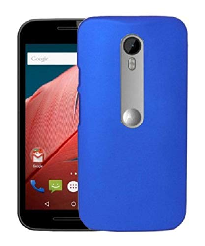COVERNEW Plastic Back Cover for Motorola Motorola Moto G Turbo Edition- Royal Blue
