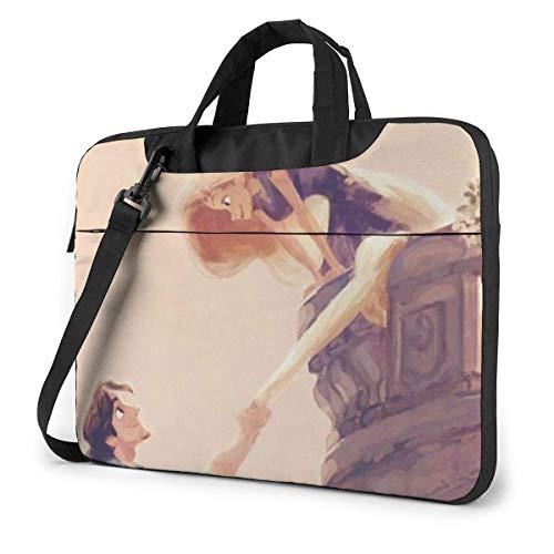 Princ Laptop Bag Busin Briefcase for Men Women, Shoulder Menger Laptop Sleeve Case Carrying Bag- 15.6 Inch