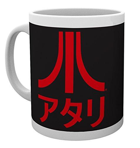 Atari Fuji Logo Mug with Japanese Text