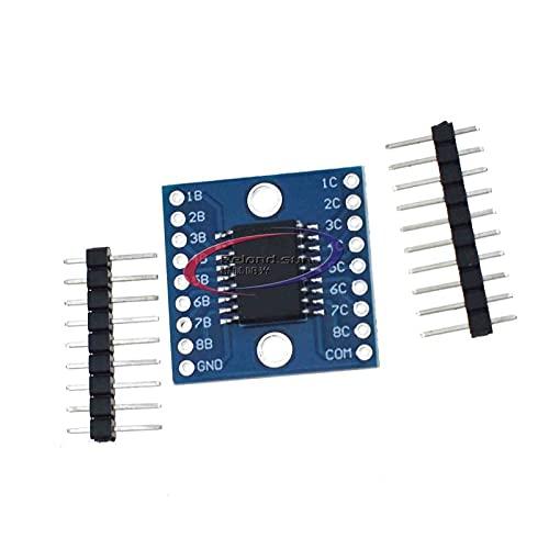 Reland Sun Componente eléctrico de la protección del voltaje del conductor del voltaje del voltaje del tubo de Darlington del módulo de ULN2803A
