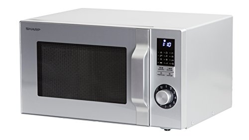 Sharp Forno a microonde/48,3cm/900W/25L/Display a LED/funzione grill/Rosso