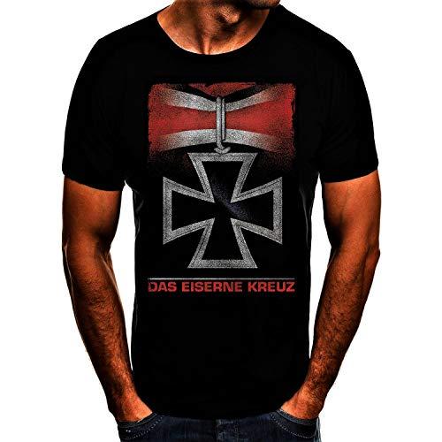 Eiserne Kreuz Eisernes Kreuz Deutschland Germany T-Shirt (3XL)