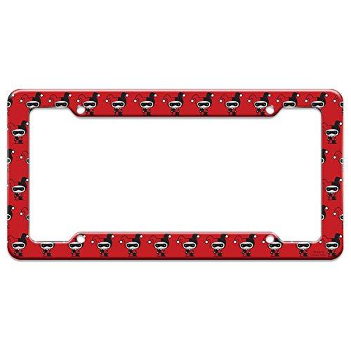 41te-5irwuL Harley Quinn License Plate Frames