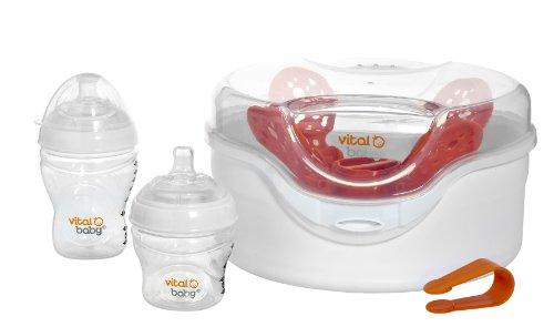 Vital Baby - Sterilizzatore al vapore per microonde