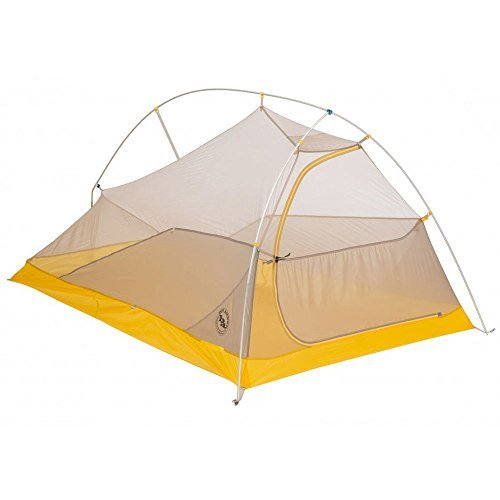 BIG AGNES Fly Creek HV UL2 Tent Ash/Yellow Black One Size by Big Agnes