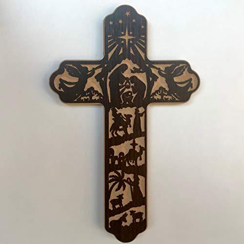 Cruz Natalina - História de Natal - MDF