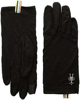 Smartwool Unisex Merino 150 Merino Wool Glove Black Large