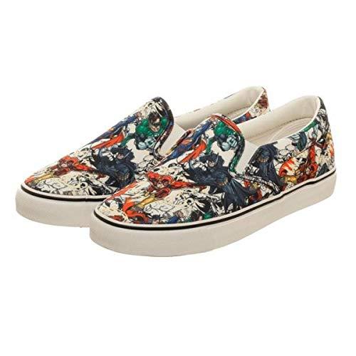 Justice League Unisex Dek Shoes - Size 11