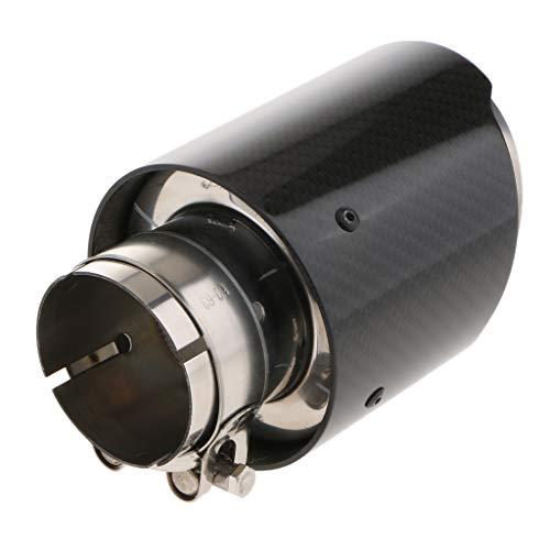 B Baosity Cola Terminale di Fuga Embellecedor Diametro di Tubo di Scappamento Acciaio Inossidabile Suggerimento di Silenziatore