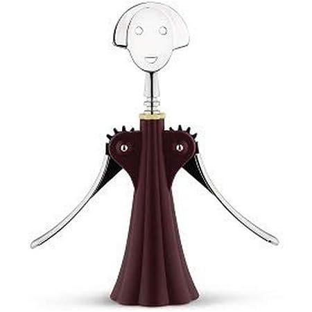 アレッシィ(Alessi) ワインオープナー Anna G. レッド AAM01 R 高さ24.5cm