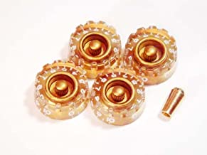 MIJ Customized Speed Knobs and Toggle knob Set (Metric) gold fa-cspd5mm-gld