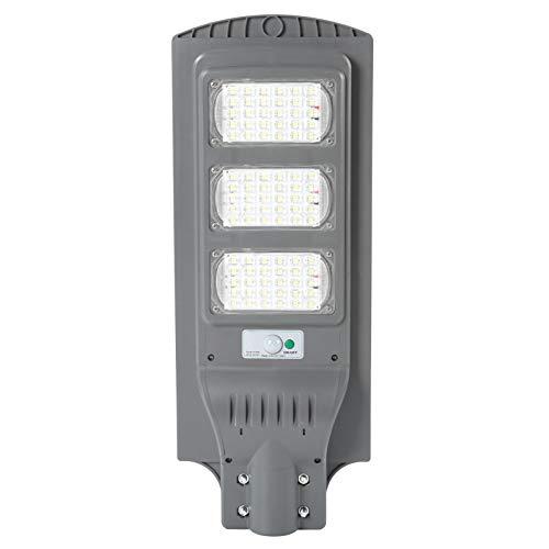 Luces solares al aire libre, 6500K-7000K 160W 90 LED Lámpara, Inalámbrico IP66 Luz de inundación solar impermeable, Sensor de movimiento de seguridad Luz al aire libre para cubierta, cerca, patio, pue