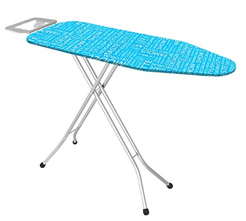 Uniware Turkey Ironing Board With Iron Rest, Large (Colors May Vary, 43 Inch)