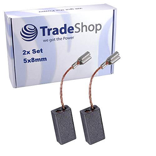 2x Kohlebürsten ersetzt 1617014134 1617014127 1607000490 für viele Bosch Elektro-Werkzeuge/Motorkohlen Schleifkohlen 5x8x19mm