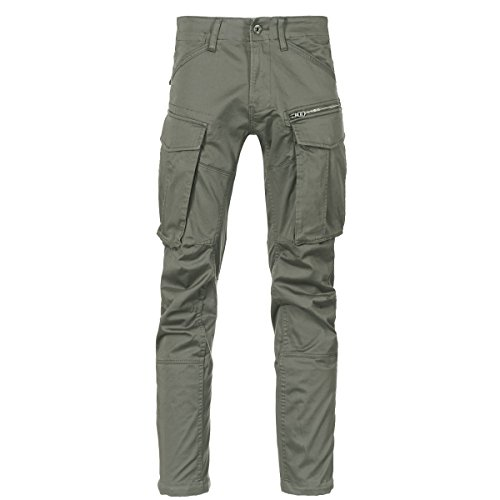 G-STAR RAW Herren Rovic Zip 3d Straight Tapered Hose, Grün (green 5126-1260), W36 / 38L