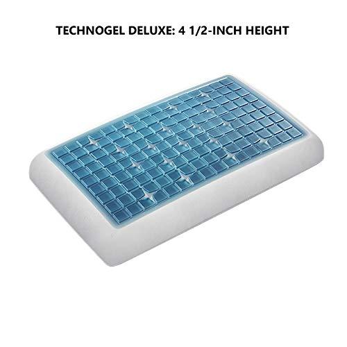 Technogel Gelkissen Deluxe, Original Line, 66x40x11cm, weiß, 11cm