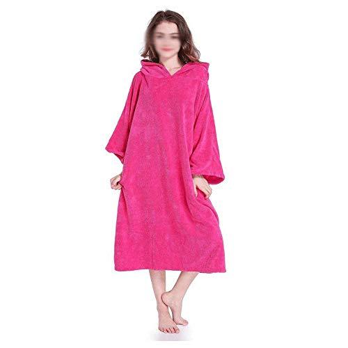 veranderen bad badjas, surfen Poncho handdoek met kap