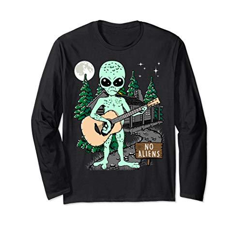 Lustige Gitarre Geschenk für Gitarristen, Gitarre Langarmshirt