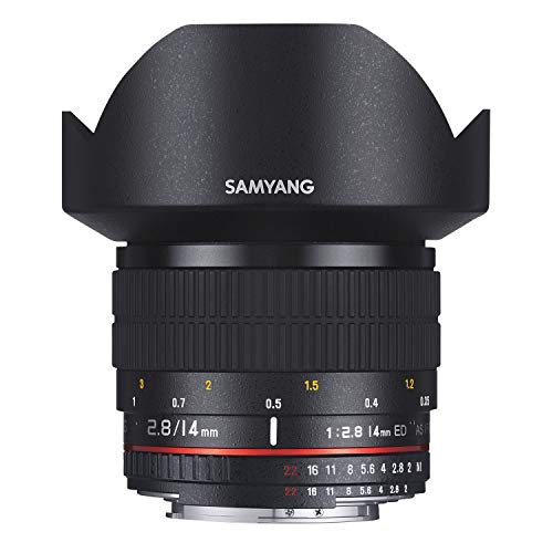 Samyang - Objectif grand angle - 14 mm - f/2.8 IF ED UMC Aspherical - Canon