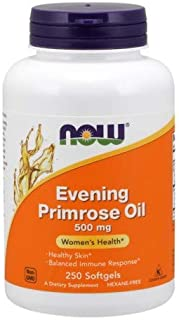 Now Foods Evening Primrose Oil 500 mg - 250 Softgels ( Multi-Pack)