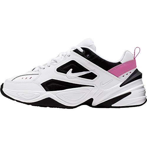Nike M2k Tekno, Scarpe da Trail Running Donna, Multicolore (White/White-China Rose-Black 105), 38.5 EU