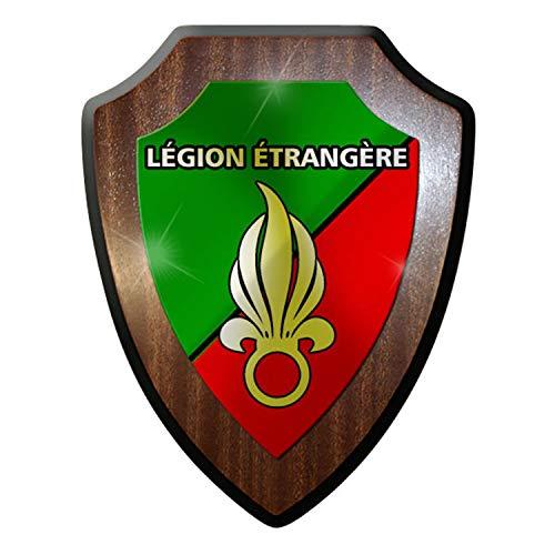 Wappenschild - Légion étrangère Fremdenlegion Frankreich Heer Soldaten #9324 w