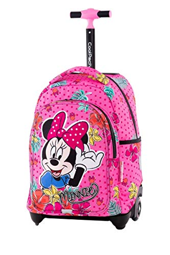 Minnie Tropical Grande Zaino Trolley Scuola Elementare per Bambina Ragazza
