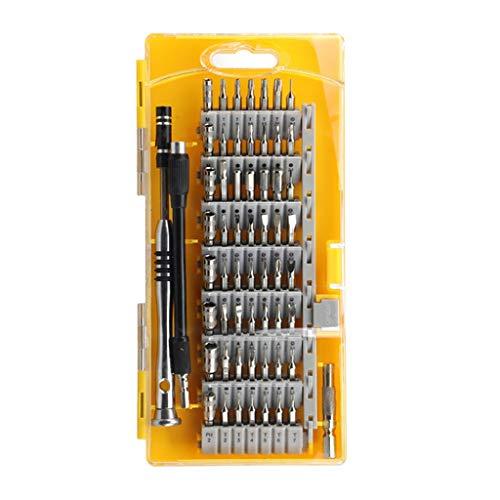 SPNEC Destornillador Conjunto 60 en 1 Torx Apertura Multifuncional Set de Herramienta de reparación Destornillador de precisión para teléfonos Tablet PC Herramientas manuales (Color : C)
