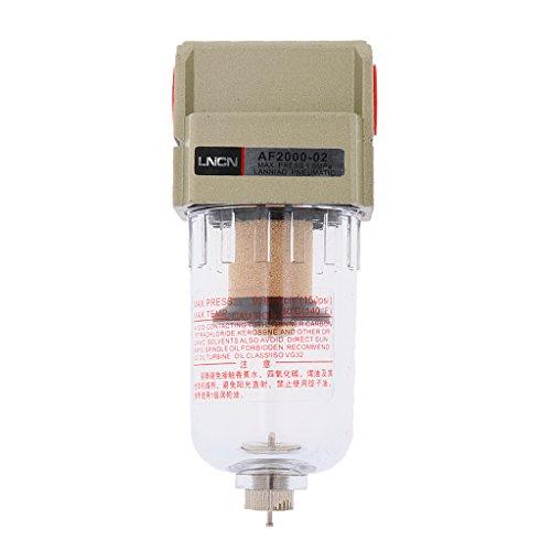 Set de Filtro De Aire Particulado Compresor Agua Purificador De Trampa De Humedad Herramientas/Aleación de aluminio - 1/4