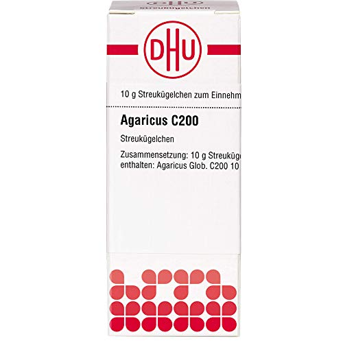 DHU Agaricus C200 Streukügelchen, 10 g Globuli