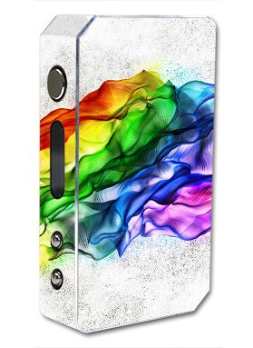 Skin Decal Vinyl Wrap for Pioneer 4 you ipv3 Li 165w watt Vape Mod Box / Fresh Colors