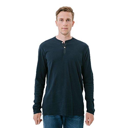 Loreak Mendian T-Shirt, langärmlig, Light Thermal Navy, Blau L